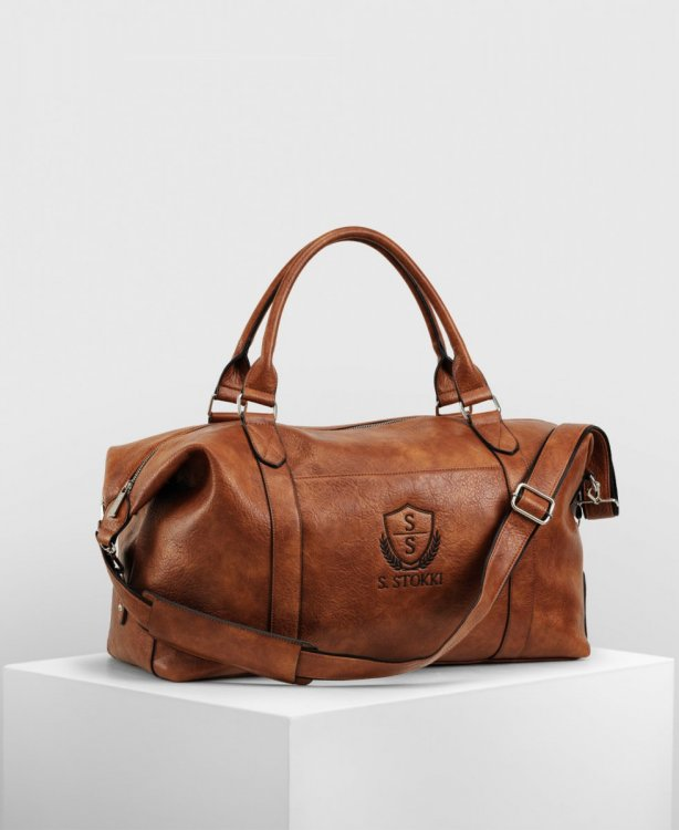 Weekendbag Lounge - Cognac