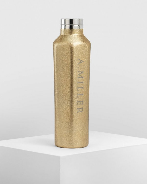 Water Bottle - Dazzle Gold